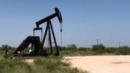 Ölförderung im Permischen Becken in Texas
