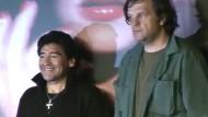 Fußball-Gott Maradona auf der großen Leinwand