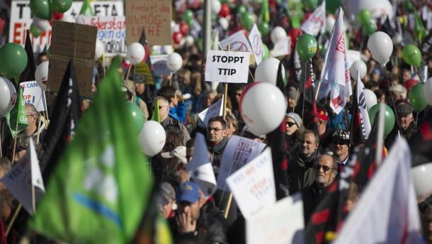 Die TTIP-Gegner nerven!