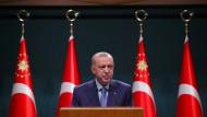 Sorgt für Unruhe in der deutschen Wirtschaft: Der türkische Staatspräsident Tayyip Erdogan.