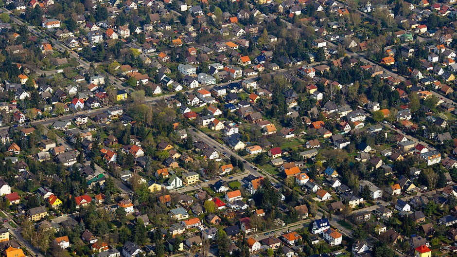 Auslaufmodell? Eine Einfamilienhaussiedlung am südlichen Stadtrand von Berlin