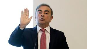 Japan verlangt Auslieferung mutmaßlicher Fluchthelfer von Ghosn