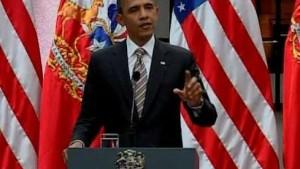 """Obama: """"Geben Führung bald ab"""""""