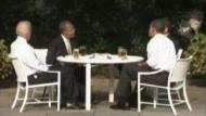 Obama: Freundliche Unterhaltung