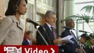 Nahost-Konferenz fordert Waffenruhe