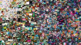 Millionenbilder aus der Blockchain