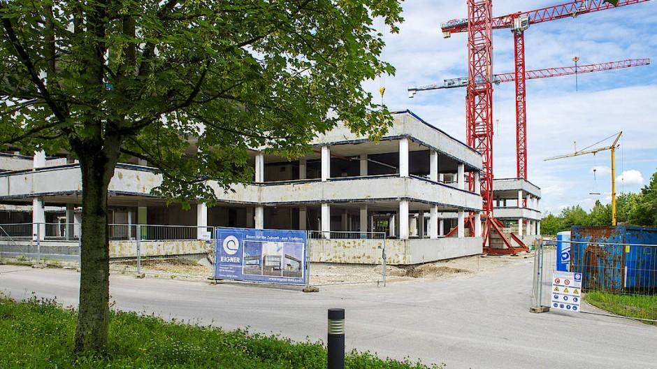 Wer hier einzieht, ist höchst ungewiss: Wirecard wollte sein neues Bürogebäude Mitte kommenden Jahres in Betrieb nehmen.