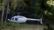 Spektakulärer Raub per Hubschrauber