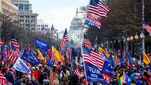 Abermals Proteste von Trump-Fans