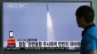 Nordkorea feuert Mittelstreckenraketen ab