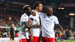HSV gewinnt wildes Nord-Derby in Bremen