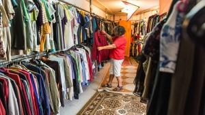 Angebote von Kleiderkammern sind gefragt