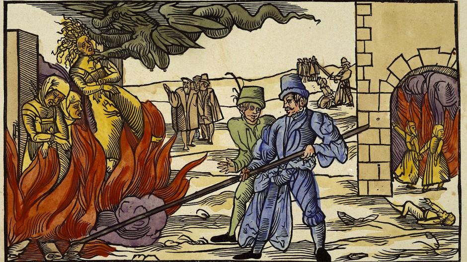 Der Teufel holt sie: Hexenverbrennung 1555 in der Grafschaft Reynstein am Harz