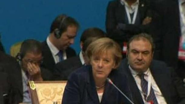 """Merkel: """"Es gibt noch eine Menge zu tun"""""""