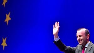 Kann Manfred Weber Kommissionspräsident?