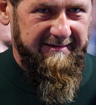 Auf ihn kommt es an: Tschetscheniens Machthaber Kadyrow bei einem Besuch in Moskau.