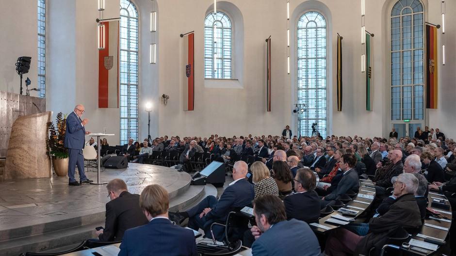 """""""Deutschland spricht"""" in der Frankfurter Paulskirche: F.A.Z.-Herausgeber Werner D'Inka"""