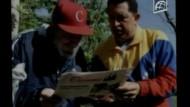 Fideler Chavez besucht Fidel Castro