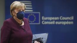 Europäischer Rat würdigt Angela Merkel
