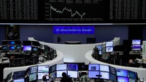 An der Börse wird gefeiert