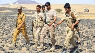 Jemenitische Regierungssoldaten