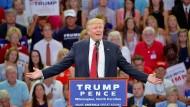 Trump empört mit Aussage zu Hillary Clinton