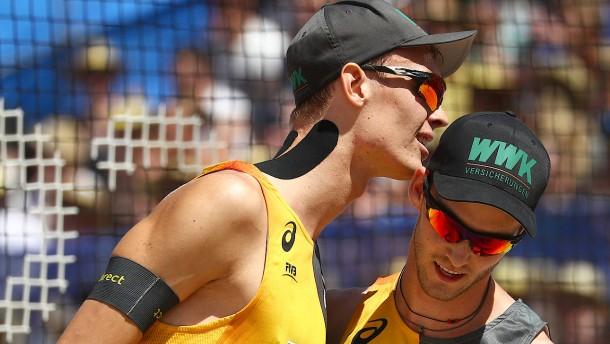 Mit dem Rad zur Beachvolleyball-WM
