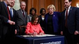 Impeachmentverfahren gegen Trump kann beginnen
