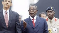 Obama in Afrika begeistert empfangen