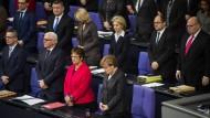 Gedenken im Bundestag