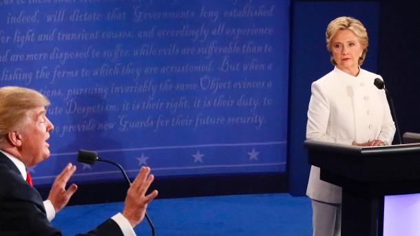 Als Hillary Clinton die Mauer bauen wollte