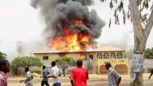 Unruhen nach Wahlsieg Goodluck Jonathans