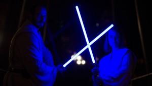 Zwei Lichtquanten üben das Rechnen