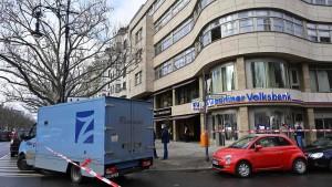 Zwei Verletzte bei Überfall auf Geldtransporter