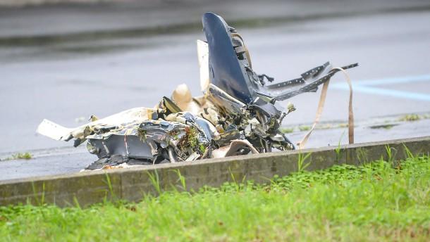 Sieben Tote bei Absturz von Kleinflugzeug