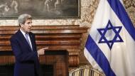 Ende des Siedlungsbau: John Kerry gibt Rahmenbedingungen künftiger Friedensverhandlungen vor.