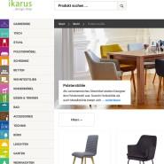 Gut sortiert: der Online-Shop von Ikarus