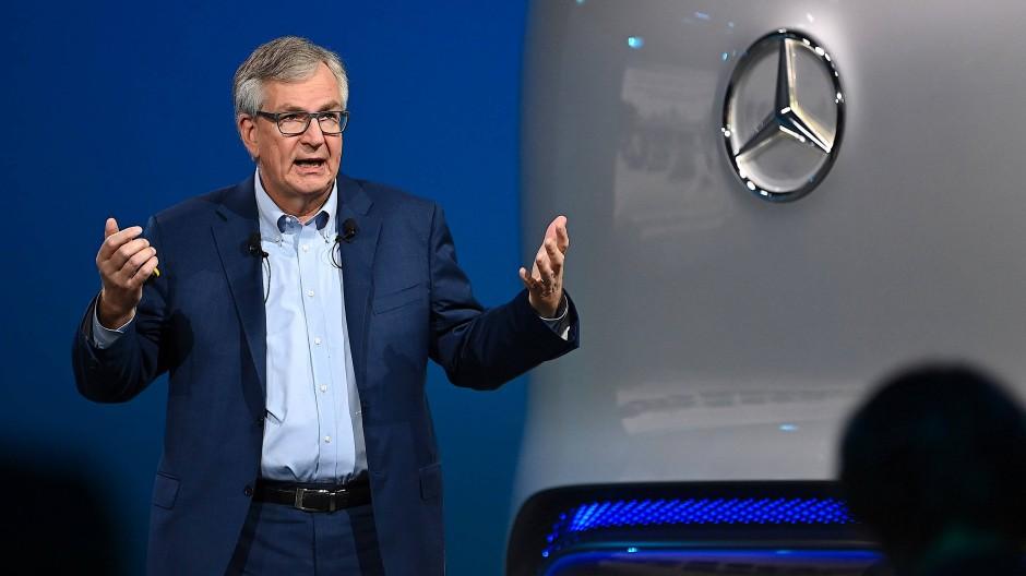 Ist sich sicher, wie der Transport nachhaltiger werden kann: Daimler Truck AG-Chef Martin Daum.