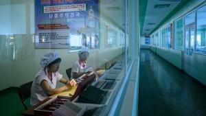 Nordkoreas Wirtschaft schrumpft und schrumpft