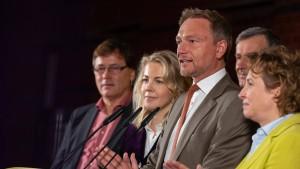 FDP zieht in kommenden Landtag ein