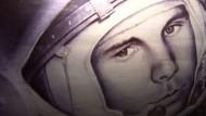 Gagarin - erster Mensch im All macht Russen heute noch stolz