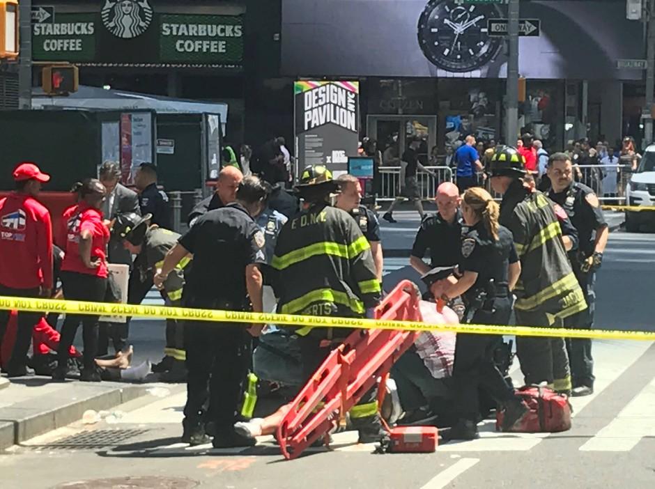 Die Einsatzkräfte mussten viele Verletzte versorgen.