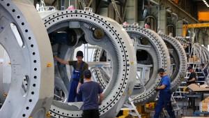Deutsche Industrie erhält deutlich mehr Aufträge