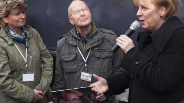 Merkel feiert mit Gorbatschow und Walesa