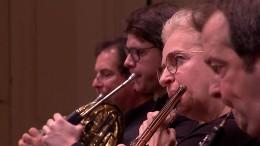 Hamburger Symphoniker proben Brahms