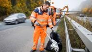 Einfach weggeworfen: Die Müllbeseitigung kostet Hessen jährlich Millionen.