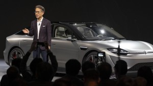 Sony präsentiert E-Auto auf der CES in Las Vegas