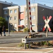 Am Bahnübergang im Frankfurter Stadtteil Nied kam es erneut zu einer Störung der Schranke (Archivbild).