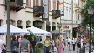 Stadtbummel zu Läden mit Atmosphäre