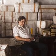"""Schauspieler Wagner Moura in der Rolle des kolumbianischen Drogenbarons Pablo Escobar in der Netflix-Serie """"Narcos""""."""